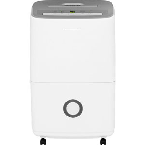 Frigidaire 50-Pint Dehumidifier with Effortless Humidity Control