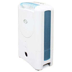 EcoSeb CLASSIC Desiccant Dehumidifier with Ionizer